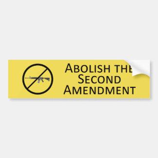 Autocollant De Voiture Supprimez le deuxième amendement