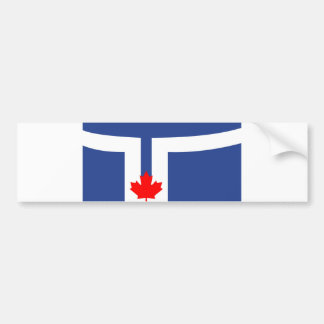 Autocollant De Voiture Symbole du Canada de drapeau de ville de Toronto