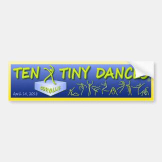 """Autocollant De Voiture T-shirt de """"Dix Dances® minuscule"""" Corvallis"""