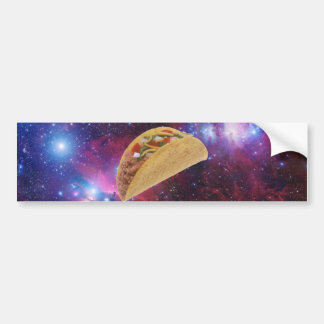 Autocollant De Voiture Taco de l'espace