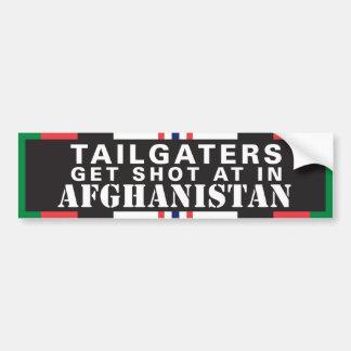 Autocollant De Voiture Tailgaters atteignent le tir à l'Afghanistan