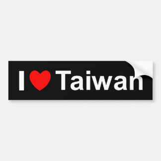 Autocollant De Voiture Taïwan