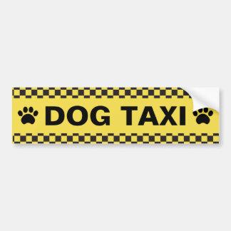 Autocollant De Voiture Taxi de chien