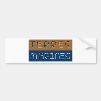 Autocollant De Voiture Terres marines