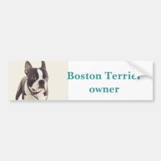Autocollant De Voiture terrier de Boston