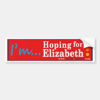 Autocollant De Voiture Terriers d'Elizabeth pour l'adhésif pour