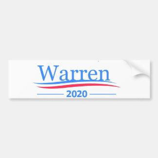 Autocollant De Voiture Terriers pour le président 2020, blanc classique