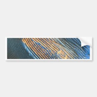Autocollant De Voiture Texture bleue lumineuse unique