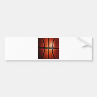 Autocollant De Voiture Texture de basket-ball