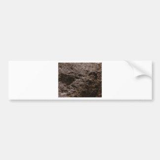 Autocollant De Voiture texture piquée de roche