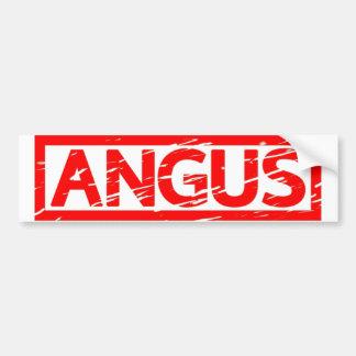 Autocollant De Voiture Timbre d'Angus