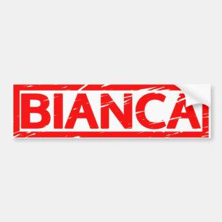 Autocollant De Voiture Timbre de Bianca