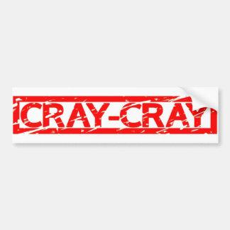 Autocollant De Voiture Timbre de Cray-Cray