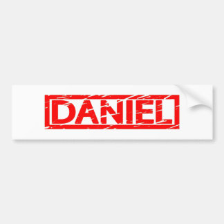 Autocollant De Voiture Timbre de Daniel