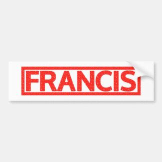 Autocollant De Voiture Timbre de Francis