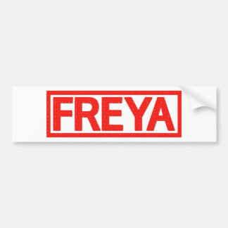 Autocollant De Voiture Timbre de Freya
