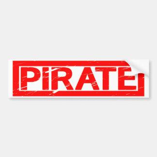 Autocollant De Voiture Timbre de pirate