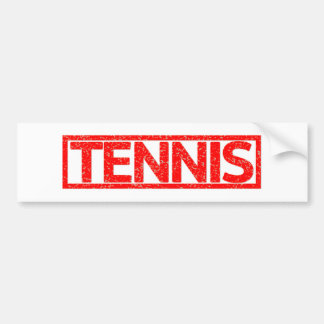 Autocollant De Voiture Timbre de tennis