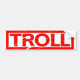 Autocollant De Voiture Timbre de Troll