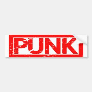 Autocollant De Voiture Timbre punk