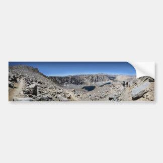 Autocollant De Voiture Traînée de Mt Whitney - traînée de John Muir