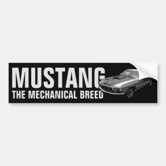 Autocollant De Voiture Transmission mécanique de mustang