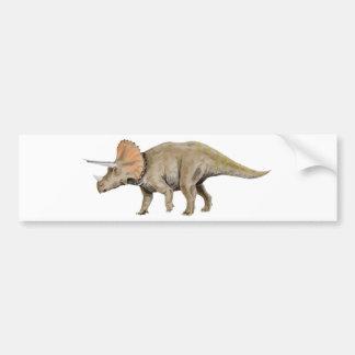 Autocollant De Voiture triceratops2