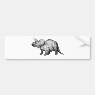 Autocollant De Voiture triceratops5