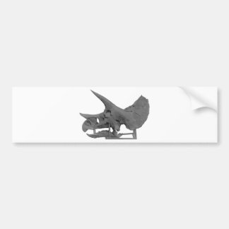Autocollant De Voiture Triceratopsskull
