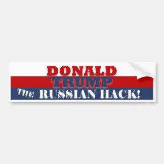 Autocollant De Voiture Trump l'entaille russe BumperSticker