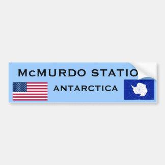 Autocollant De Voiture U.S. - Adhésif pour pare-chocs de McMurdo