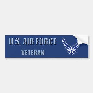 Autocollant De Voiture U.S. Adhésif pour pare-chocs de vétéran de l'Armée