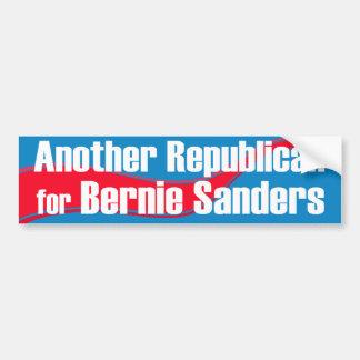 Autocollant De Voiture Un autre républicain pour des ponceuses de Bernie