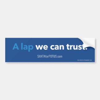 """Autocollant De Voiture """"Un recouvrement nous pouvons faire confiance"""" à"""