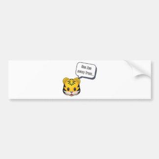 Autocollant De Voiture un zoo à partir - d'Emoji