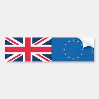 Autocollant De Voiture Union Jack et adhésif pour pare-chocs de drapeaux