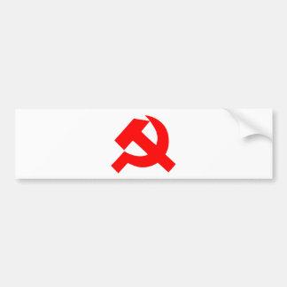 Autocollant De Voiture Union Soviétique primitive CCCP de marteau et de