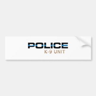 Autocollant De Voiture Unité de la police K-9