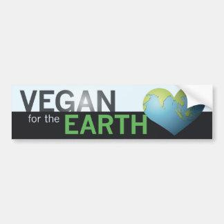 Autocollant De Voiture Végétalien pour la terre