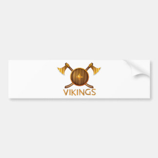 Autocollant De Voiture Vikings