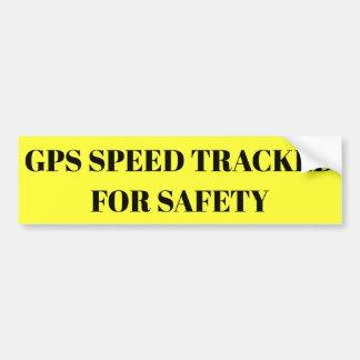 Autocollant De Voiture Vitesse de GPS dépistée pour l'autocollant de
