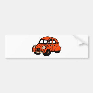 Autocollant De Voiture voiture française vintage de 2 cv