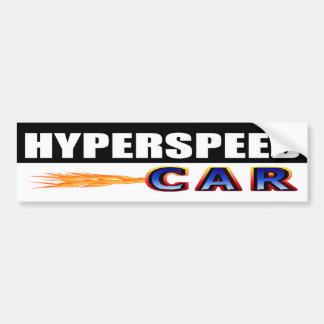 Autocollant De Voiture Voiture Hyperspeed