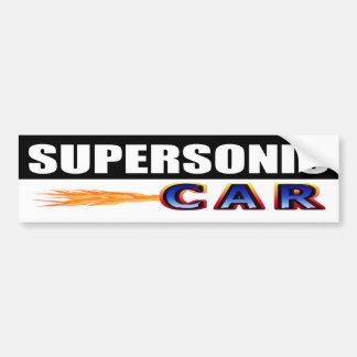 Autocollant De Voiture Voiture supersonique