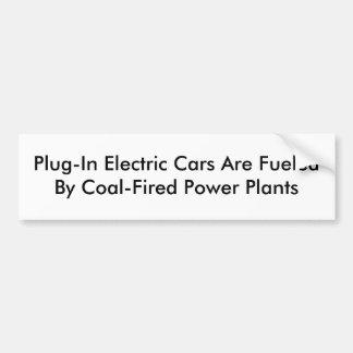 Autocollant De Voiture Voitures électriques embrochables
