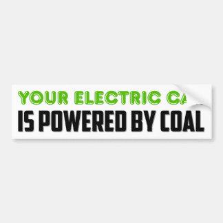 Autocollant De Voiture Votre voiture électrique est actionnée par le