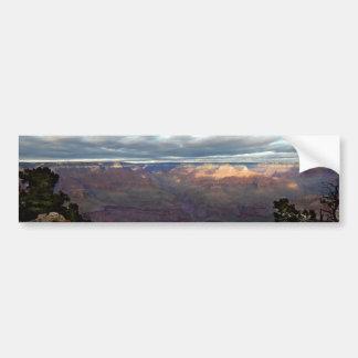 Autocollant De Voiture Vue panoramique du canyon grand