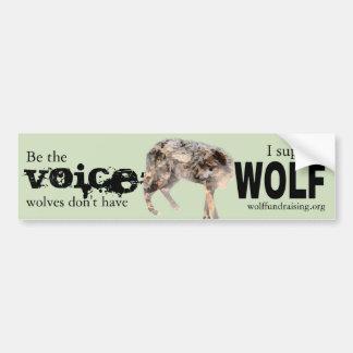 Autocollant De Voiture W.O.L.F. Adhésif pour pare-chocs - voix