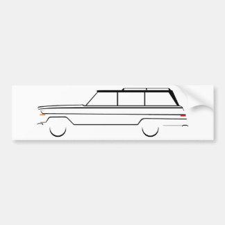 Autocollant De Voiture Wagoneer