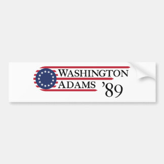 Autocollant De Voiture Washington Adams '89